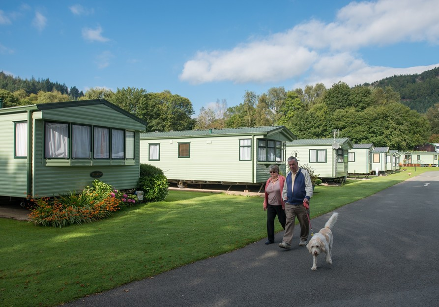Touring Caravan Sites With Leisure Facilities In Scotland
