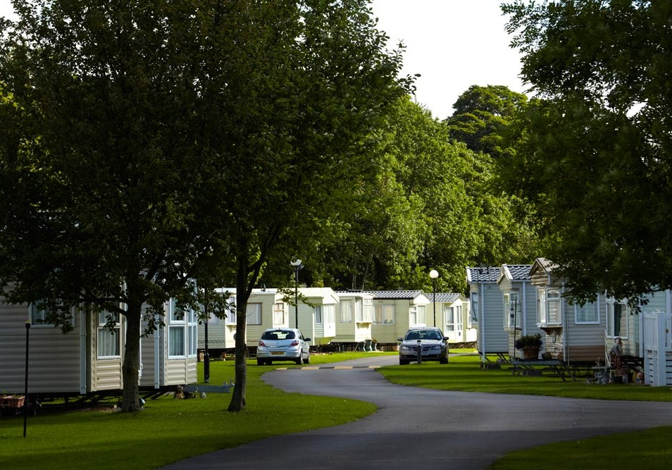 Popular Caravan Park Low Bollihope Frosterley DL13 2 Bedroom Lodge For Sale